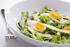 Feche acima da salada do abacate Foto de Stock