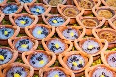 Feche acima da sobremesa tailandesa fotos de stock royalty free