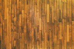 Feche acima da tabela de madeira rústica com textura da grão no estilo do vintage Imagem de Stock