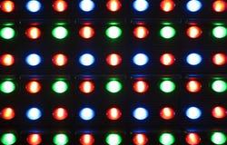 Luzes conduzidas Imagens de Stock