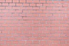 Feche acima da textura da parede de tijolo vermelho imagens de stock