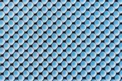 Feche acima da textura de borracha azul para o não-deslizamento Foto de Stock Royalty Free
