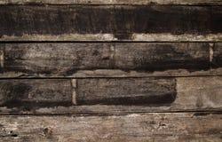 Feche acima da textura de madeira velha da prancha Fotografia de Stock
