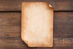 Feche acima da textura de papel velha Fotografia de Stock Royalty Free