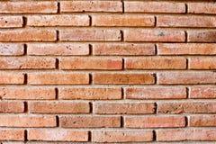 Feche acima da textura do fundo da parede de tijolo Imagens de Stock Royalty Free