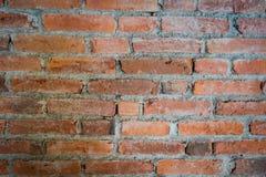 Feche acima da textura da parede de tijolo Fundo da parede de tijolo imagens de stock