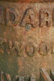 Feche acima da tubulação velha do metal Fotografia de Stock