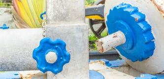 Feche acima da vista das engrenagens do mecanismo velho Fotografia de Stock Royalty Free