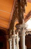 Feche acima das fabricações de aço do vintage no palácio de bangalore Foto de Stock Royalty Free