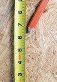 Feche acima das ferramentas dos carpinteiros Foto de Stock Royalty Free