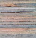 Feche acima das texturas da madeira na madeira empilhada Fotografia de Stock