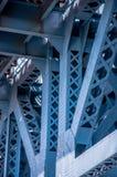 Feche acima de Benjamin Franklin Bridge Fotos de Stock Royalty Free