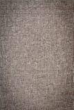 Feche acima de Grey Woven Fabric Foto de Stock Royalty Free