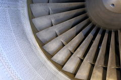 Feche acima de Jet Enigine Imagem de Stock