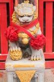 Feche acima de Lion Stature antigo imagens de stock royalty free