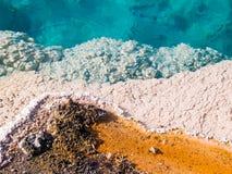 Mola ocidental da bacia de Geysesr do polegar fotografia de stock