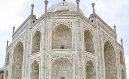 Feche acima de Taj-Mahal Imagem de Stock Royalty Free