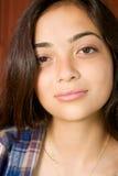 Feche acima de um adolescente Foto de Stock