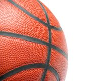 Feche acima de um basquetebol foto de stock