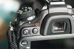 Feche acima de um corpo da câmera Foto de Stock