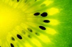 Feche acima de um fruto de quivi saudável Fotos de Stock Royalty Free