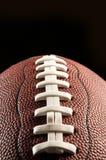 Feche acima de um futebol americano Fotografia de Stock Royalty Free