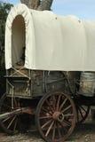 Feche acima de um vagão coberto Foto de Stock
