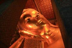 Feche acima de uma cabeça de um buddha imagens de stock royalty free