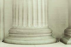 Feche acima de uma coluna imagens de stock royalty free