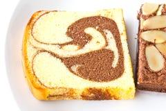 Feche acima de uma fatia de pão   Imagem de Stock