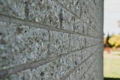 Feche acima de uma parede de tijolo fotos de stock