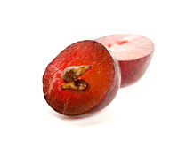 Feche acima de uma uva vermelha Imagem de Stock