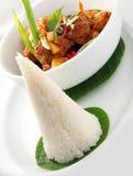 Feche acima do alimento asiático fotos de stock
