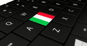 Feche acima do botão de Itália Foto de Stock Royalty Free