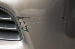 Feche acima do carro de dano Foto de Stock
