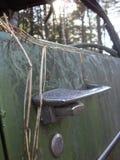 Feche acima do carro oxidado velho Fotos de Stock Royalty Free