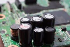 Feche acima do circuito eletrônico Fotos de Stock