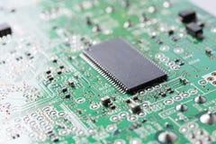 Feche acima do circuito eletrônico Imagem de Stock Royalty Free