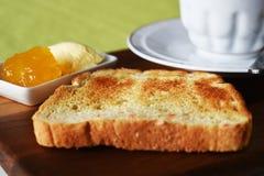 Feche acima do conceito do café da manhã Fotos de Stock