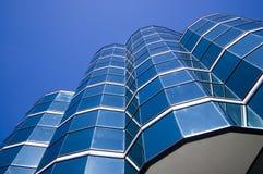 Feche acima do edifício moderno Imagem de Stock