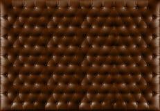 Feche acima do estilo retro do sofá Fotografia de Stock