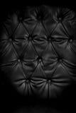 Feche acima do estilo retro do sofá, matéria têxtil do capitone Imagem de Stock Royalty Free