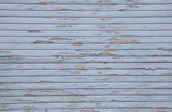 Feche acima do fundo chique gasto azul de madeira do grunge Imagens de Stock Royalty Free