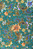 Feche acima do fundo do teste padrão de flor Fotos de Stock Royalty Free