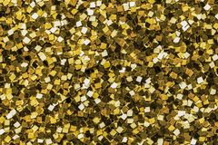Feche acima do fundo dourado da lantejoula foto de stock royalty free
