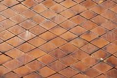 Feche acima do fundo tailandês do telhado do templo e texture Fotos de Stock