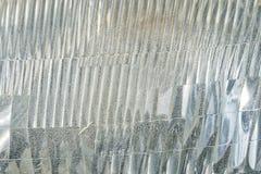 Feche acima do fundo Textured do carro farol velho Fotografia de Stock Royalty Free