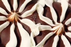 Feche acima do gelado doce da sobremesa Fotos de Stock Royalty Free