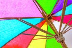 Feche acima do guarda-chuva interno fotos de stock
