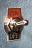Feche acima do interruptor foto de stock royalty free